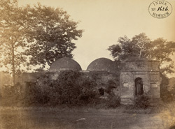 Ruins of the Nagar Raja's Hammam (baths), Rajnagar, ancient capital of Birbhum District.